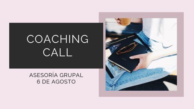 Coaching call 5 agosto